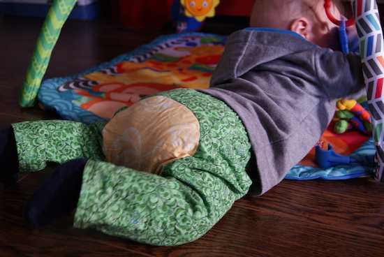 Pantalons pour bébé Baby pants par Purl Soho