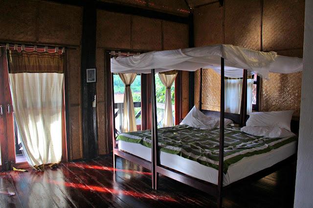 Marky Ramone Go's room in Nong Kiau Riverside