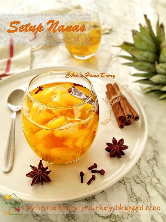 Indonesia Classic beverage; #setupnanas / Setup Nanas segar dan Mudah | Çitra's Home Diary