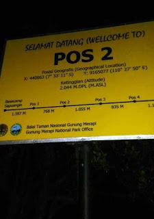 Pos 2 Merapi Via Sapuangin