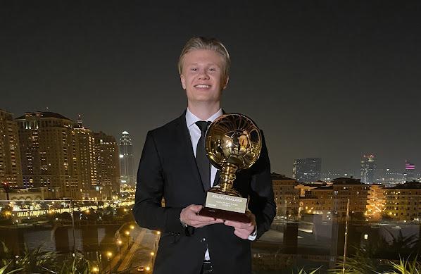 رسميًا.. هالاند يفوز بجائزة الفتى الذهبي لعام 2020