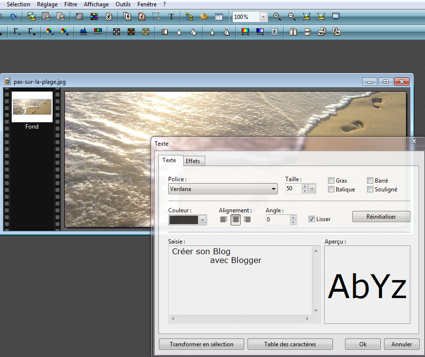 enregistrer au format jpg