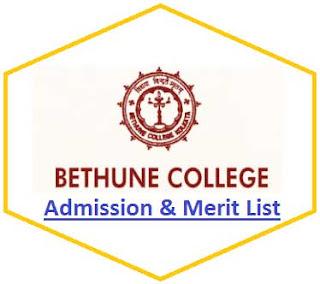 Bethune College Merit List