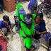 mẫu Sơn xe máy Honda Winner 150 sơn màu xanh neon cực đẹp