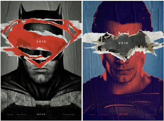 Batman v Superman Face Off