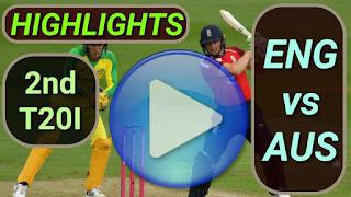 ENG vs AUS 2nd T20I 2020