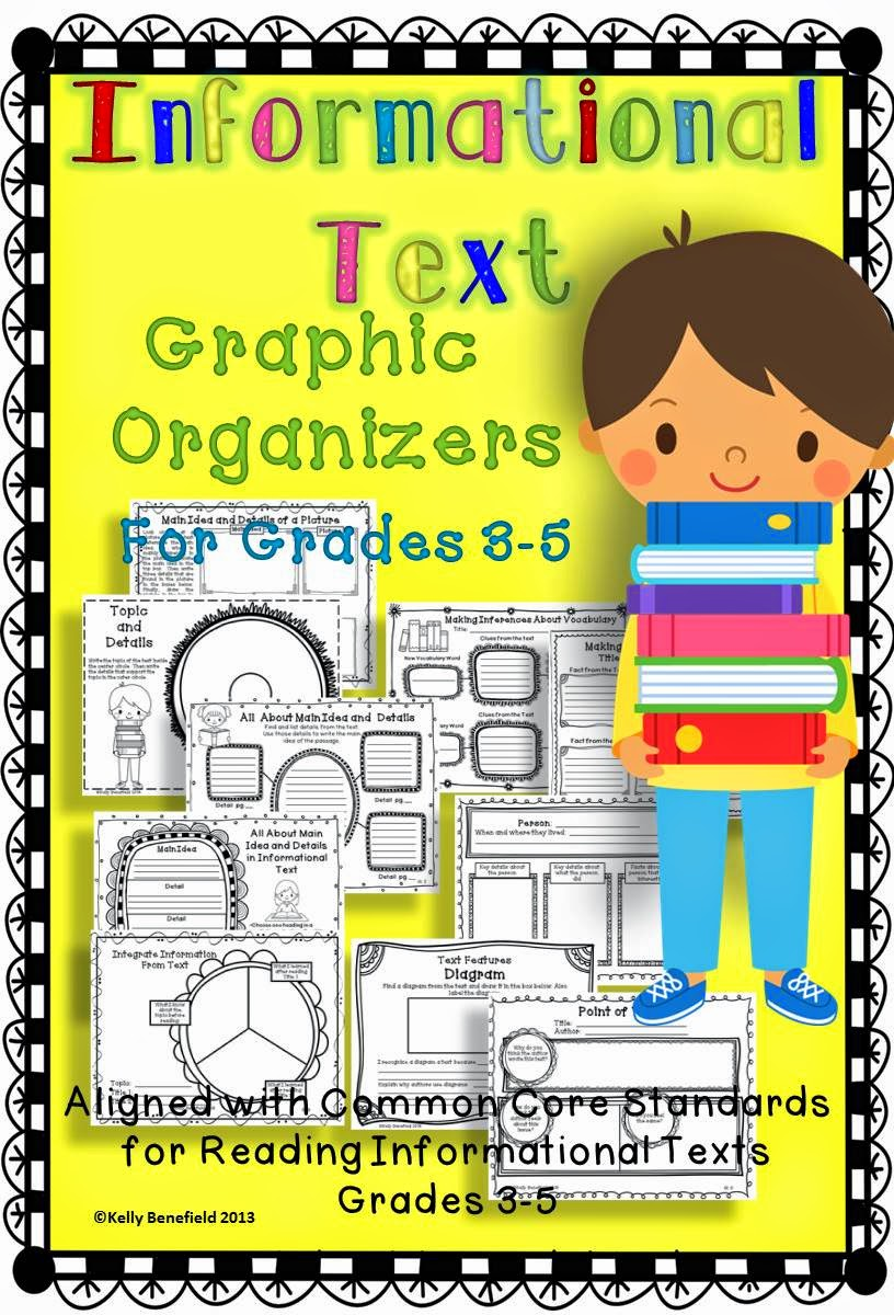 https://www.teacherspayteachers.com/Product/Common-Core-Reading-Graphic-Organizers-for-Informational-Texts-Grades-3-5-390417
