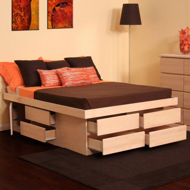 MULTI-FUNCTIONAL BED WITH STORAGE FOR YOUR BEDROOM