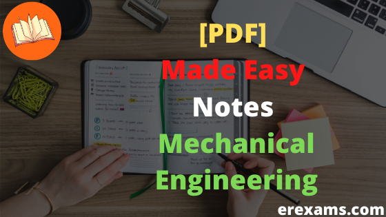[Gate 2021] Made Easy GATE Class Notes Mechanical Engineering PDF Download - ErExams - Engineering Exams Guidance RSS Feed  IMAGES, GIF, ANIMATED GIF, WALLPAPER, STICKER FOR WHATSAPP & FACEBOOK