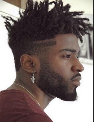 Model Tato Rambut Pria Afro Style