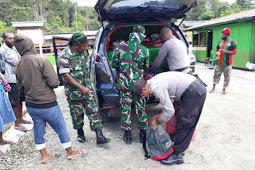 Jaga Keamanan Jelang Pemilihan 2019, TNI dan Polri di Siriwo Gelar Swiping Miras