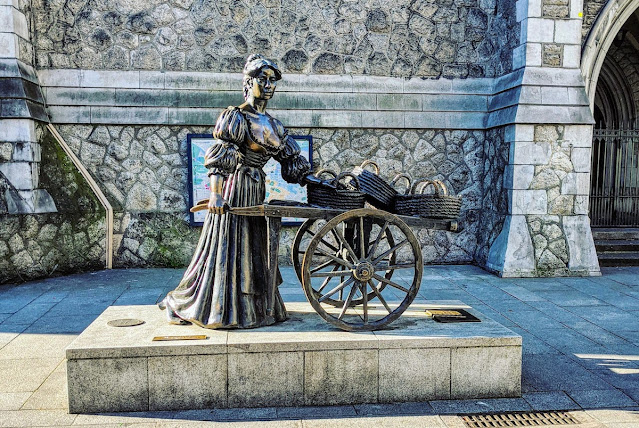 Free things to do in Dublin: Molly Malone Statue