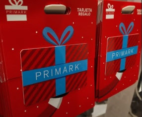 tarjetas gift cards primark