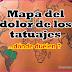 MAPA DEL DOLOR DE LOS TATUAJES