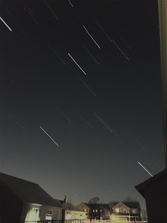 long exposure stars iphone