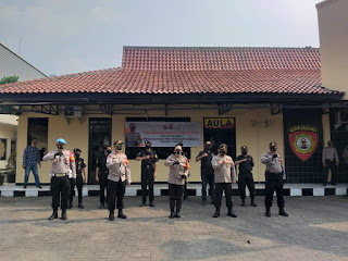 Kapolresta Tangerang Gandeng Komunitas Jadi Pelopor Pelaksanaan Protokol Kesehatan