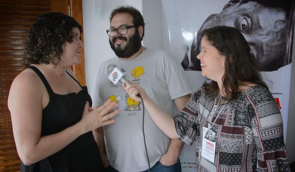 Entrevista com Paula Lice e Rodrigo Luna - filme - Ridículos