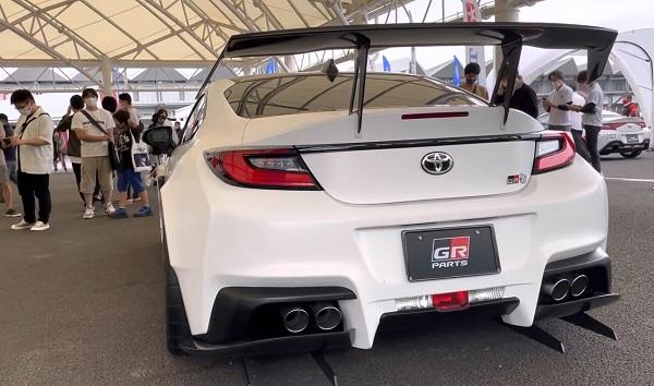 Toyota GR 86 piezas Gazoo Racing