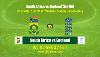 SA vs Eng 3rd ODI