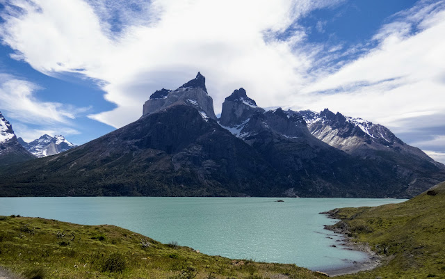 Mirador Cuernos in Torres del Paine National Park in Chile on a day trip from Puerto Natales