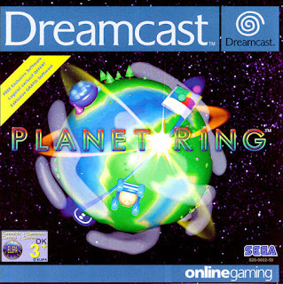 Planet Ring Dreamcast cover art