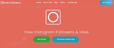 موقع Insta followers pro لزيادة لايكات ومتابعين الانستقرام