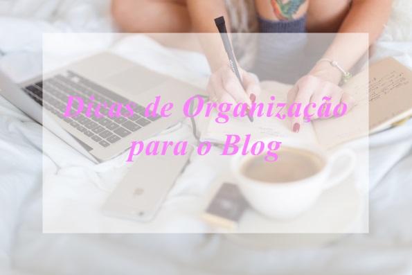 Como Organizar o Blog