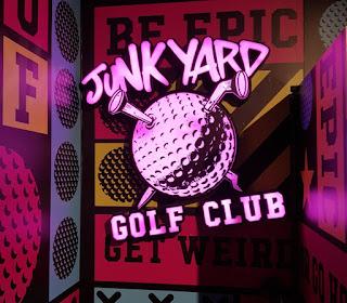 Junkyard Golf is now open on Worship Street in London