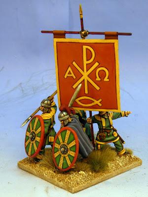 Second Unarmoured Early Byzantine Unit Close Ups