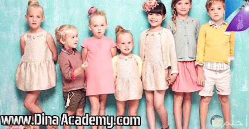 كورس ملابس الأطفال
