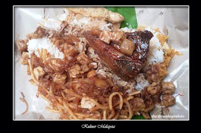 kuliner malaysia, cuisine, cullinary, food, melayu, nasi ambeng, jawa