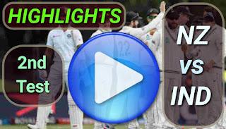 NZ vs IND 2nd Test 2020