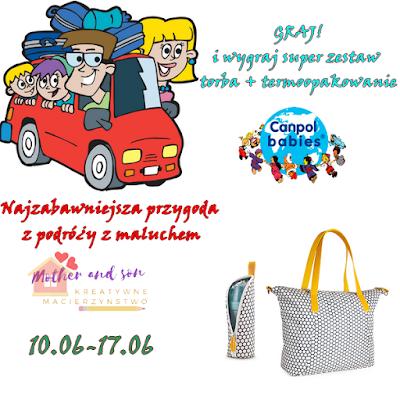 Graj i wygraj torbę! konkurs z Canpol Babies