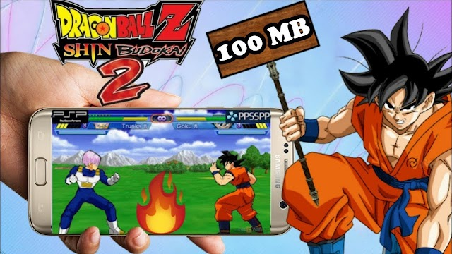 [120MB] DOWNLOAD DRAGON BALL Z - SHIN BUDOKAI PPSSPP FOR ANDROID