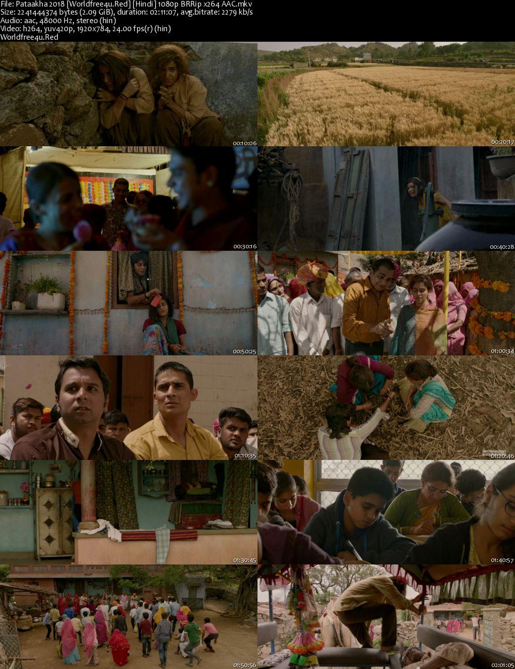 Pataakha 2018 Hindi BRRip 1080p