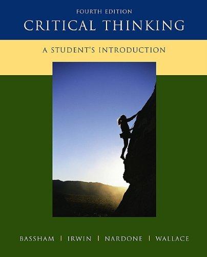 Critical Thinking LSBU 2011