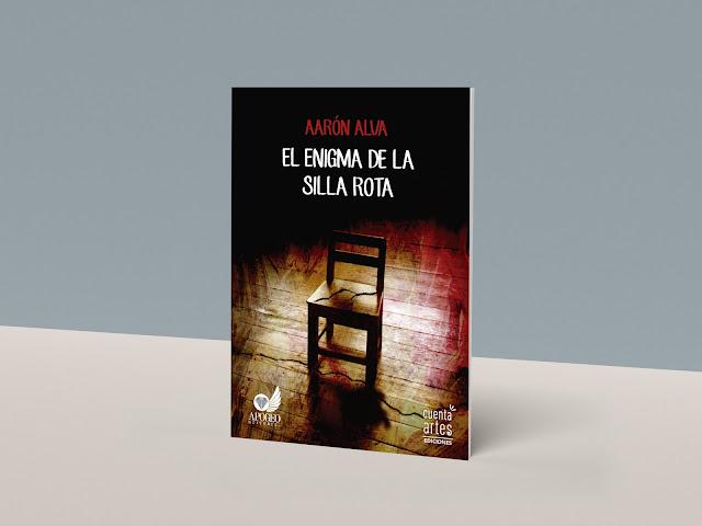Diseño del libro El enigma de la silla rota