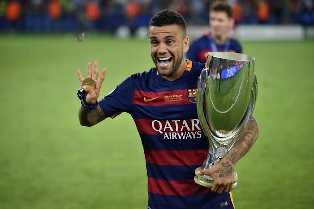 Ini Alasan Dani Alves Tinggalkan Barcelona Demi Juventus