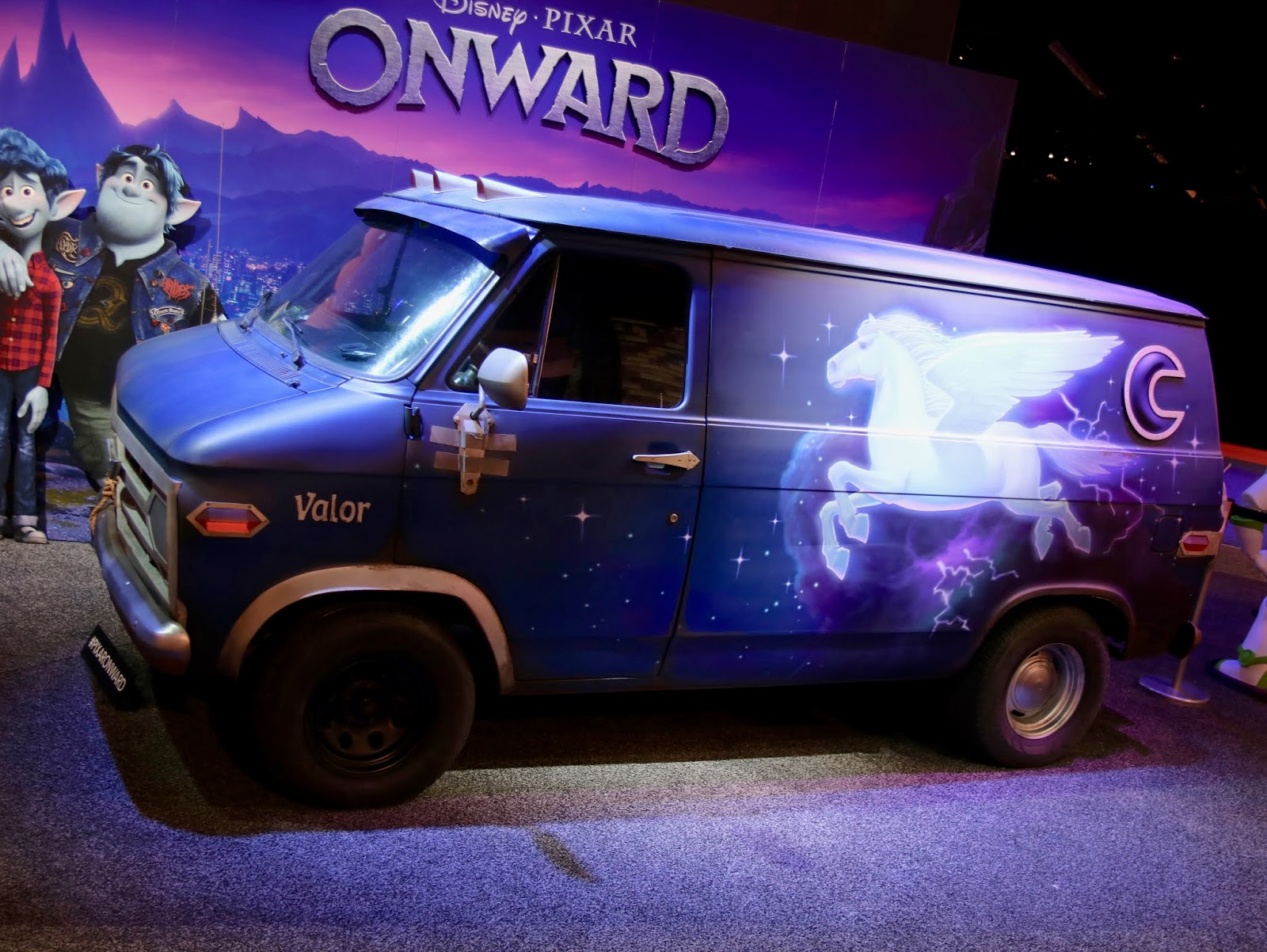 Real life Guinevere Van Onward Van Replica D23 Expo 2019