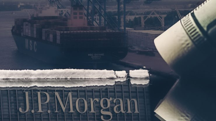 The United States Seized a Ship Owned by JP Morgan That Carried $1.3 Billion in Cocaine