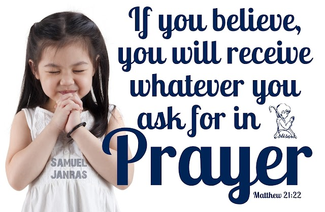 Prayer - Believe - Receive