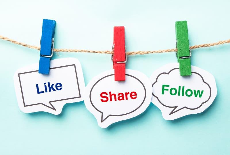 Iniciando a configuração de cada rede social e divulgação do novo blog
