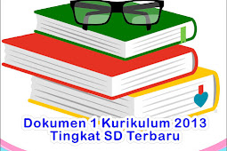 Dokumen 1 Kurikulum 2013 SD Terbaru