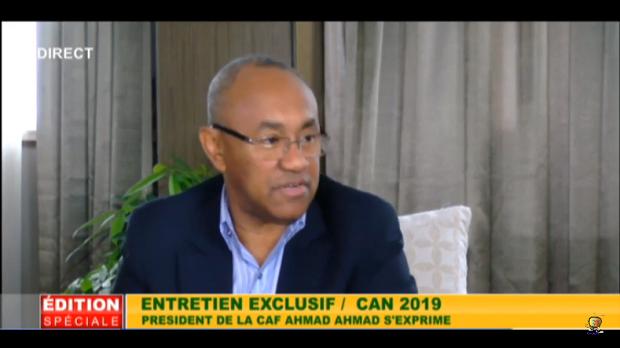 Vidéo - CAF: Ahmad confirme la CAN 2021 au Cameroun et 2023 en Côte d'Ivoire