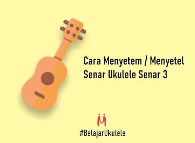 benner cara menyetem ukulele edisi belajar ukulele