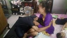 Naudzubillah, Teganya Anak Tendang Kepala Ibu Hanya karena Uang Rp 10 Ribu