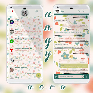 Flowers Theme For YOWhatsApp & Fouad WhatsApp By Angyfenix