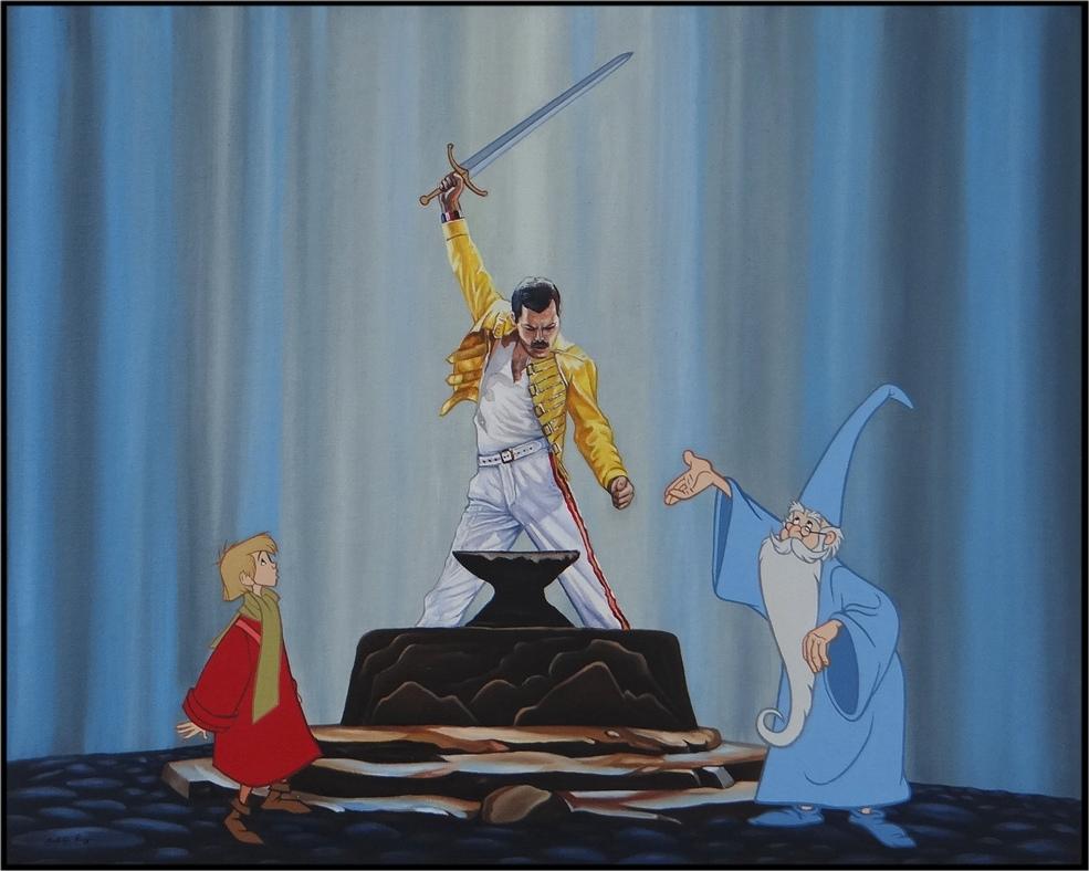 01-Born-to-Be-Queen-Jose-Rodolfo-Loaiza-Ontiveros-Walt-Disney-Cartoons-Updated-for-the-21st-Century-www-designstack-co