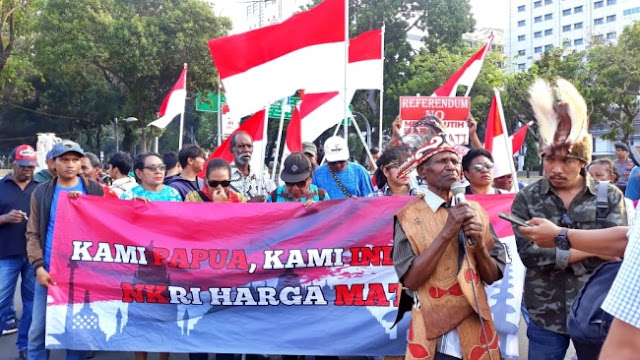 Forum Pemuda Cendrawasih: Papua Bukan Bintang Kejora