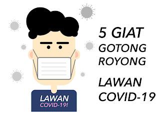 5 Giat Gotong Royong Lawan Covid-19